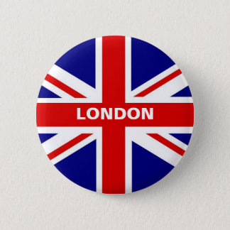 London Union Jack Button