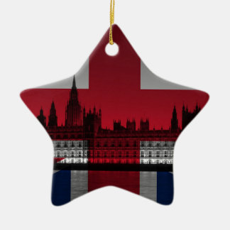 London Union Jack Christmas Ornament