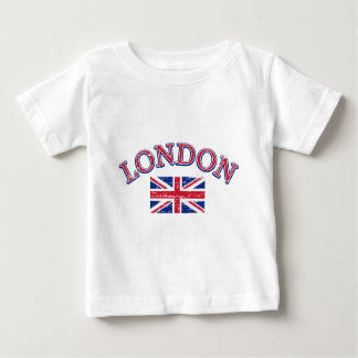 London Union Jack Design Baby T-Shirt
