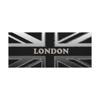 London Union Jack flag Canvas Print