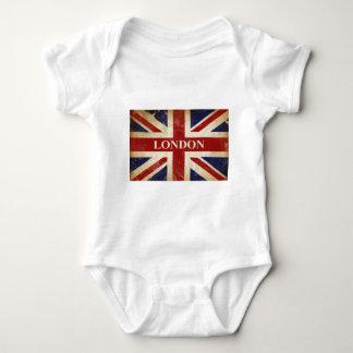 London - Union Jack - I Love London Baby Bodysuit