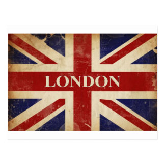 London - Union Jack - I Love London Postcard