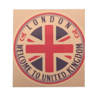 London - Union Jack - Welcome to United Kingdom Notepad