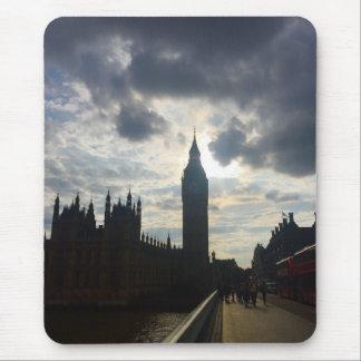 London United Kingdom Big Ben Sunset Clouds Sky UK Mouse Mat