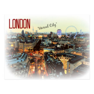 "London ""Unreal City"" Eliot Postcard"