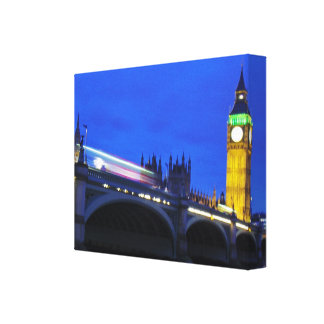 London View Stretched Canvas Print