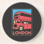 london westminster england art deco retro poster coaster