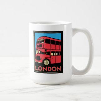 london westminster england art deco retro poster coffee mug