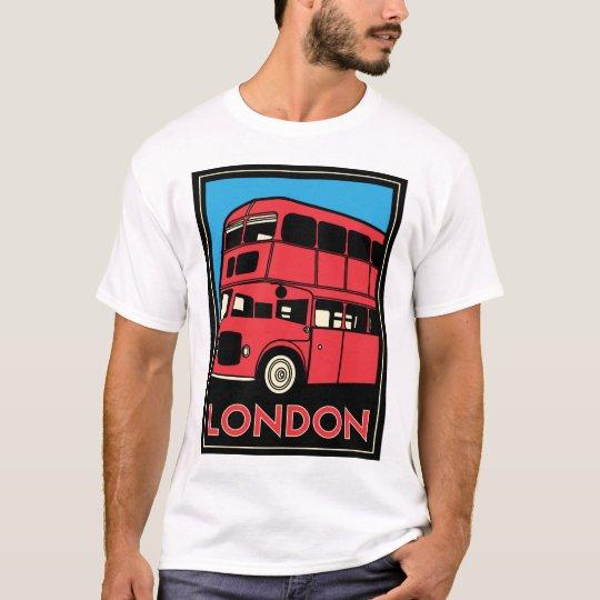 london westminster england art deco retro poster T-Shirt
