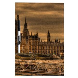 London Westminster Palace & Big Ben Dry-Erase Whiteboard