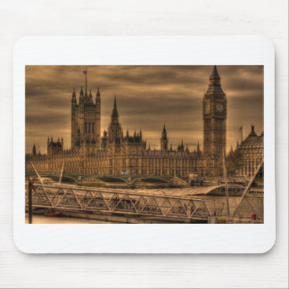 London Westminster Palace Big Ben Mouse Pads