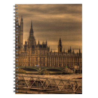 London Westminster Palace & Big Ben Note Books