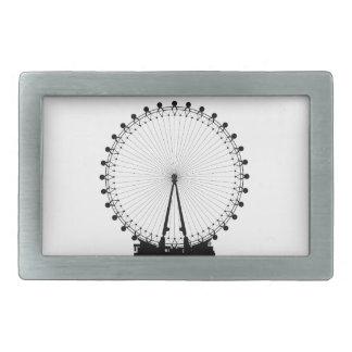 London Wheel Silhouette Belt Buckles