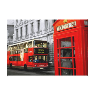 london with a touch of colour canvas prints