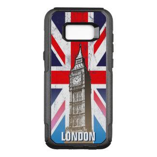 London's Big Ben Over Union Jack OtterBox Commuter Samsung Galaxy S8+ Case