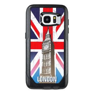 London's Big Ben Over Union Jack OtterBox Samsung Galaxy S7 Edge Case