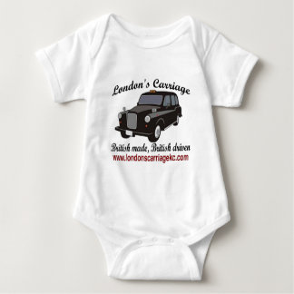 London's Carriage Baby Bodysuit