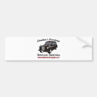 London's Carriage Car Bumper Sticker