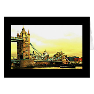 London's Tower Bridge Card