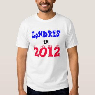 Londres en 2012 tshirts