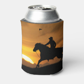 Lone Cowboy Beer Cozy Cup Can Cooler