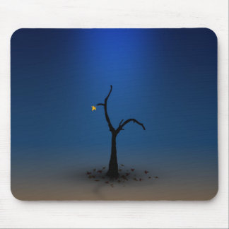 Lone Digital Tree Mouse Mat