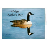 Lone Goose Father's Day Card