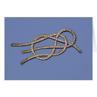 Lone Knot - Horizontal Greeting Card