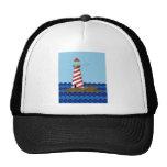 Lone Lighthouse Art Hats