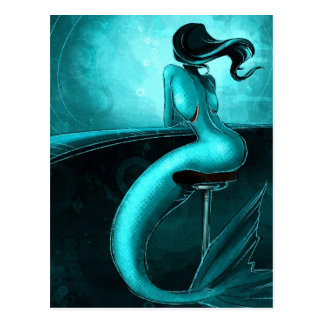Lone Mermaid Postcard