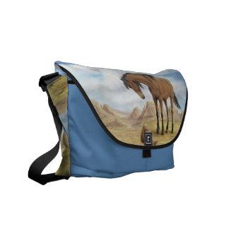Lone Mustang Messenger Bag
