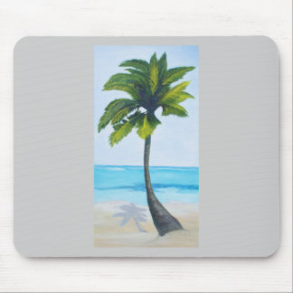 Lone Palm Mouse Pad