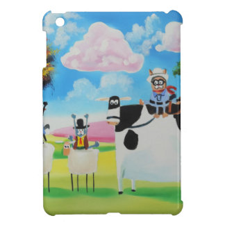 Lone ranger cats and sheep painting case for the iPad mini