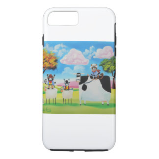 Lone ranger cats and sheep painting iPhone 7 plus case