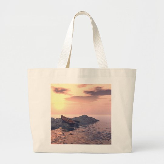 """Lone Rowboat"" Bag"