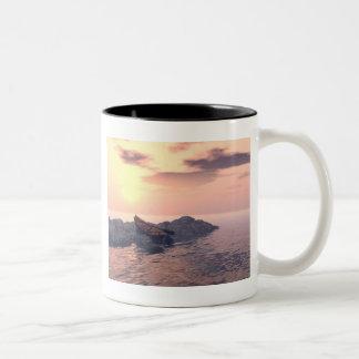 """""""Lone Rowboat"""" Mug"""