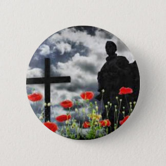 Lone Soldiers WW1 6 Cm Round Badge
