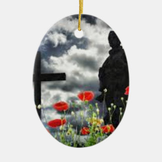 Lone Soldiers WW1 Christmas Ornament