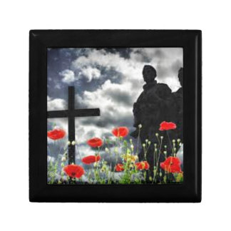 Lone Soldiers WW1 Small Square Gift Box