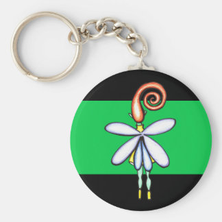 Lone Sprite Basic Round Button Key Ring