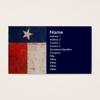 Lone Star Business Card