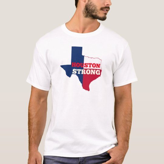 """Lone Star """"Houston Strong"""" T-Shirt"""