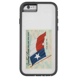 Lone Star State Texas TX Vintage Travel Souvenir Tough Xtreme iPhone 6 Case