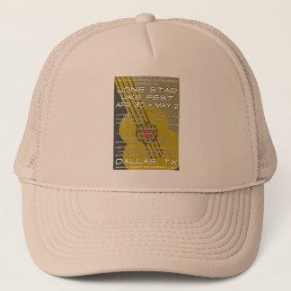 Lone Star Uke Fest Poster Art Trucker Hat