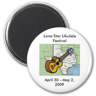 Lone Star Ukulele Festival Magnet