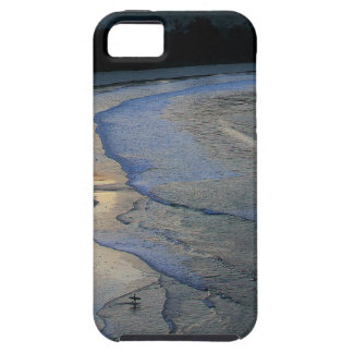 Lone surfer on scenic beach Sumba Case For The iPhone 5