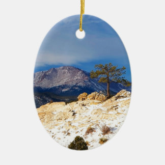 Lone Tree Christmas Ornament