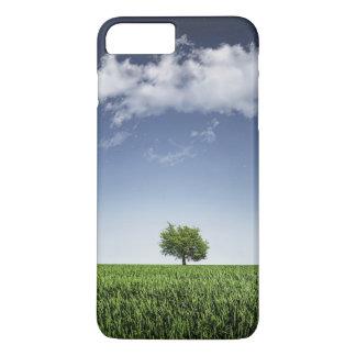 Lone tree in a field iPhone 7 plus case