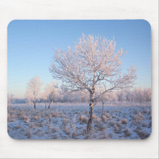 Lone Tree Light Frost Mouse Pad