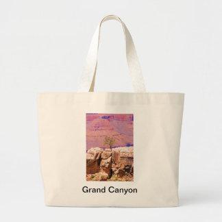 """Lone Tree on Canyon Ridge"" collection Jumbo Tote Bag"
